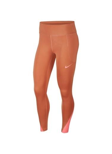 Nike Nike CJ1901260 Fast Tight Runway Terra Renk Tayt Renkli